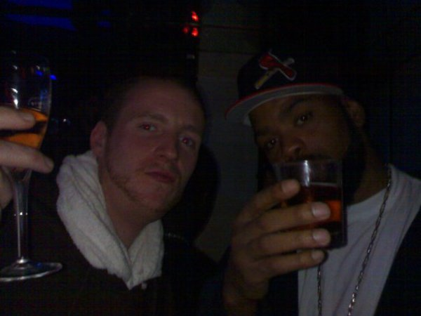 moi et... Method Man,  au Don Pé... ;)