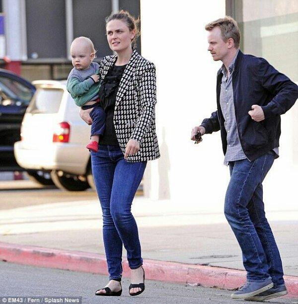 Emily, David Hornsby & leur fils !