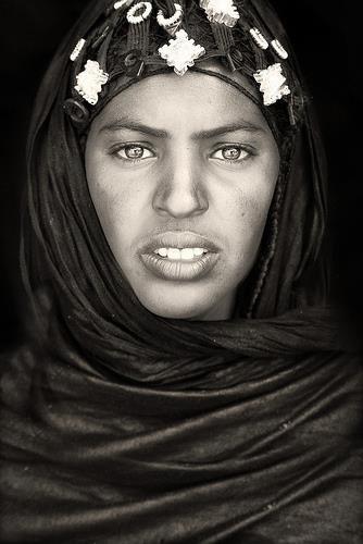 une femme du nord mali