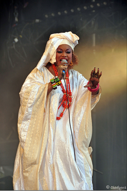 oumou sengaré(artiste malienne)
