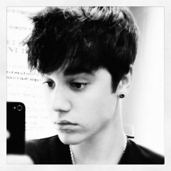 Justin Bieber : Magnifique en noir et blanc (photo)