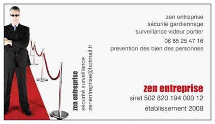 zen entreprise sécurité gardiennage  n°1 France