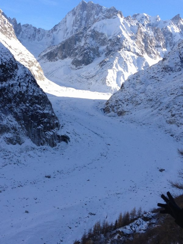 belle piste de ski