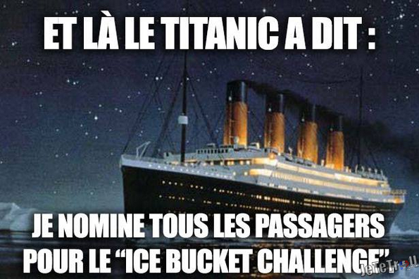 "ICE BUCKET CHALLENGE VERSION ""TRAGI...COMIQUE"" !!!"