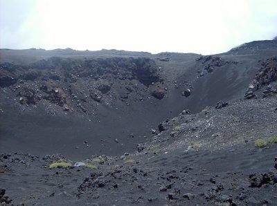 l'un des nombreux crateres endormi