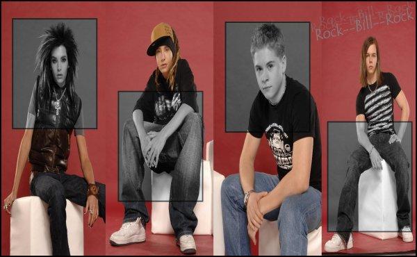 Article n°15   |    News n°04 : Shoot , Rumeur , Info ...    |    Tokio Hotel vu par Rock--Bill--RockPix/Design by me