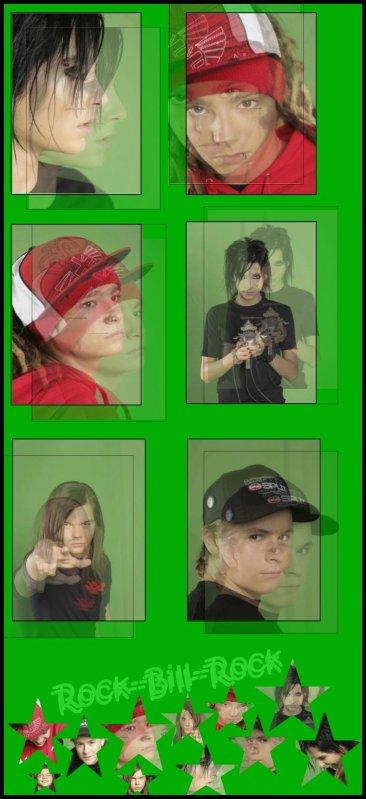 Article n°21   |    News n°09 : Shoot , Rumeur , Info ...    |    Tokio Hotel vu par Rock--Bill--RockPix/Design by me