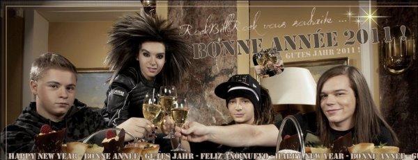 Article n°-- __ | Spécial Fête 2010 : Bonne Année ! | - - - Tokio Hotel - - - | Rock--Bill--RockPix by Rock--Bill--Rock