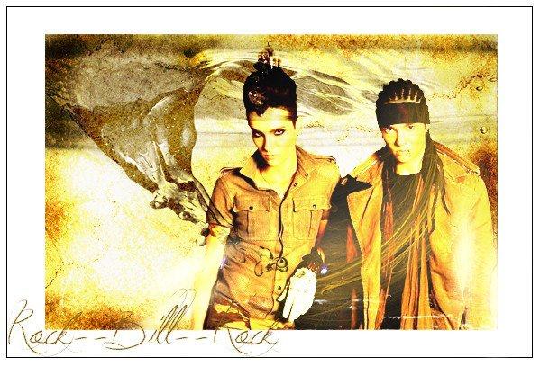 Article n°211        News n°170: Shoot , Rumeur , Info ...         Tokio Hotel vu par Rock--Bill--RockPix/design by me