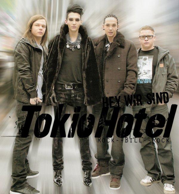 Article n°216        News n°175: Shoot , Rumeur , Info ...         Tokio Hotel vu par Rock--Bill--RockPix/design by me