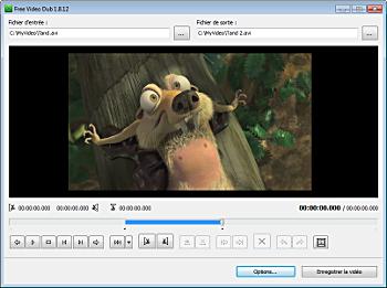 Comment monter facilement une vidéo : Free Video Dub par DVDVideoSoft
