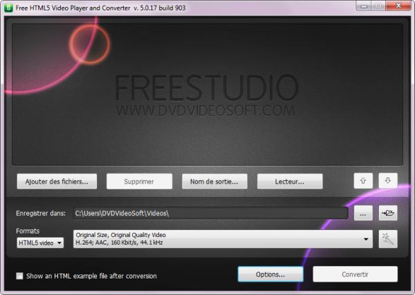 Free HTML5 Video Player and Converter est publié!