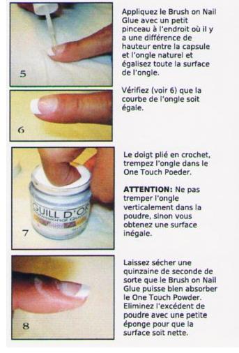 je suis pas une pro mais avec le kit one touch powder faite vos ongles en résine 25 minute chrono  un jeu enfant pour les débutantes!!