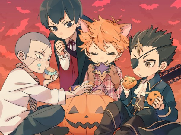 This is Halloween, everybody make a scene ! *^* ( j'ai la chanson dans la tête XDD )
