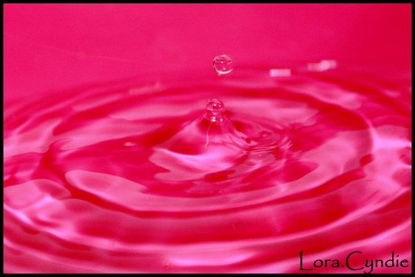 De l'eau et des couleurs...