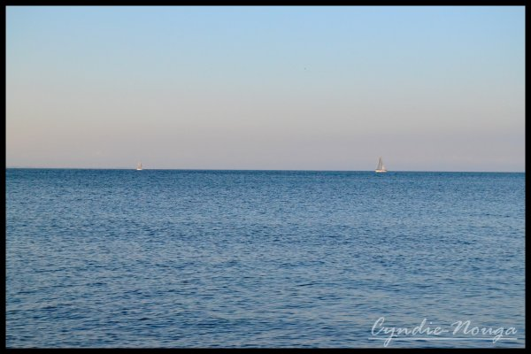 L'horizon..;
