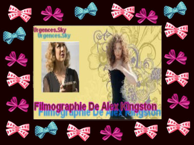 Filmographie De Alex Kingston