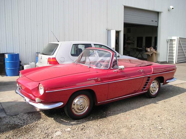 3. la renault Floride convertible