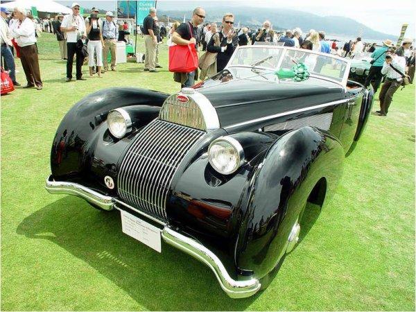5709. bugatti cabriolet