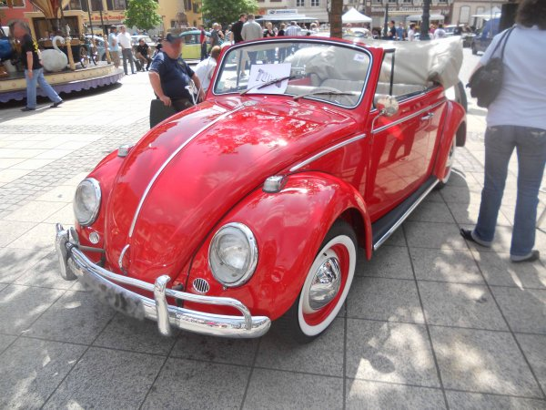 5800. vw coccinelle cabriolet