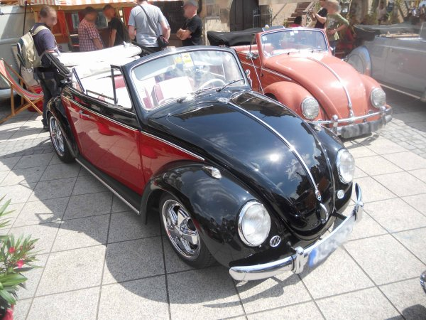 5808. vw coccinelle cabriolet