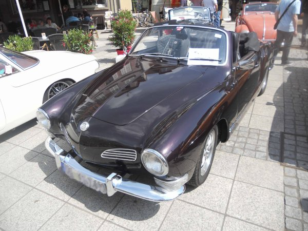 5814. vw Karmann Ghia