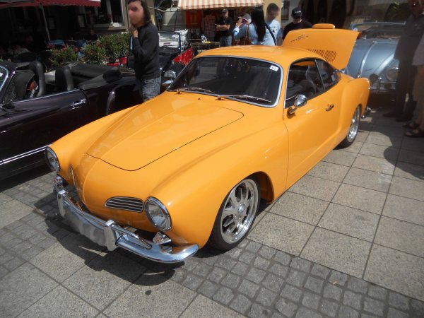 5815. vw Karmann Ghia