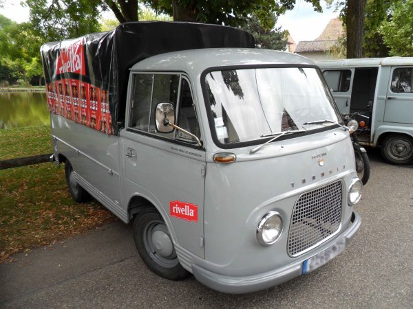 5903. ford taunus transit bachée