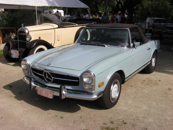 5989. mercedes cabriolet