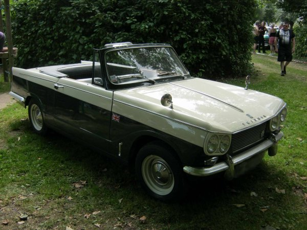 5998. triumph cabriolet