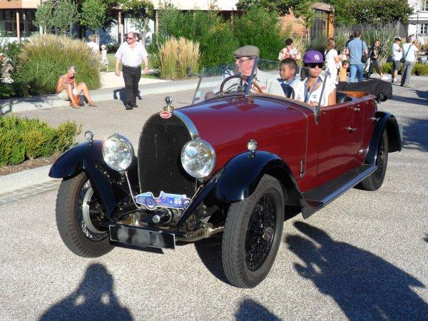 6114. bugatti cabriolet