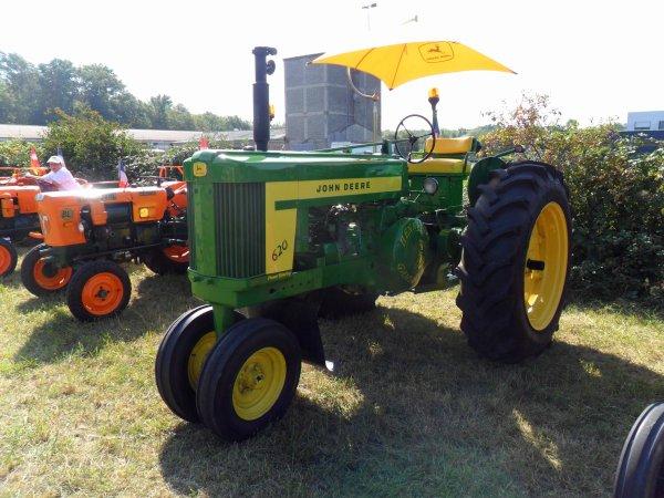 6137. tracteur john deere