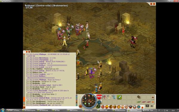Le Up de la guilde 200 !
