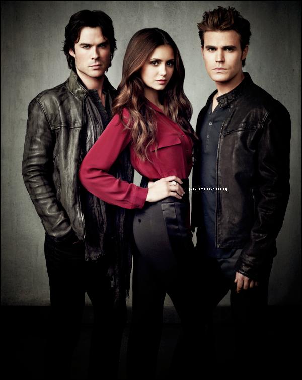 (Re)Découvrez un magnifique photoshoot de Vampire Diaries pour la Saison 4.