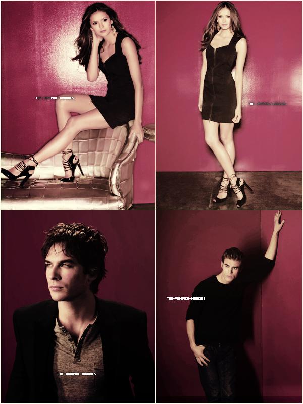 (Re)Découvrez un magnifique photoshoot promotionnelle de Vampire Diaries pour la Saison 1.