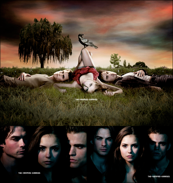 (Re)Découvrez un magnifique photoshoot promotionnel de la première saison de Vampire Diaries.
