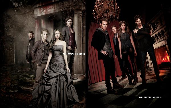 (Re)Découvrez un magnifique photoshoot promotionnelle pour la troisième saison de The Vampire Diaries !