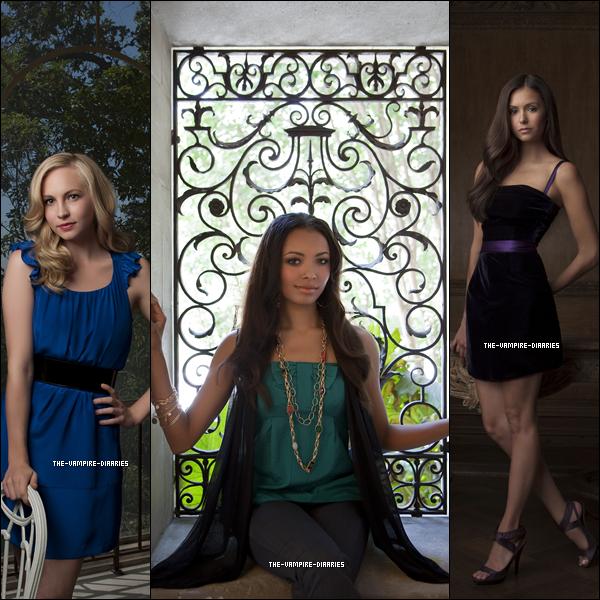 (Re)Découvrez un magnifique photoshoot promotionnel de Vampire Diaries pour la Saison 1.