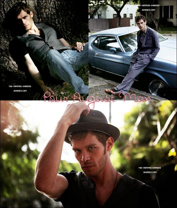 2012: (Re)Découvrez un photoshoot de Claire Holt et un photoshoot de Joseph Morgan.