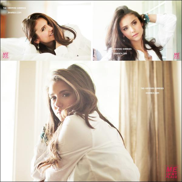 """(Re)Découvrez un sublime photoshoot datant de juillet 2011 pour la marque """"Esquire"""" de notre magnifique Nina."""