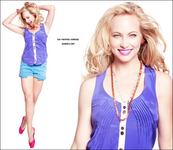 """(Re)Découvrez un magnifique photoshoot de Candice Accola pour le magazine """"Style File Daily"""" qui date de 2011 !"""