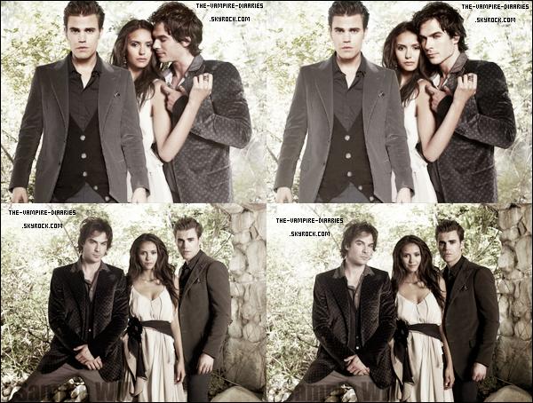 """(Re)Découvrez un magnifique photoshoot de Nina, Paul et Ian datant de 2009, pour """"TV Guide"""""""
