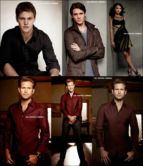 (Re)Découvrez un magnifique photoshoot promotionnelle pour la seconde saison de The Vampire Diaries !