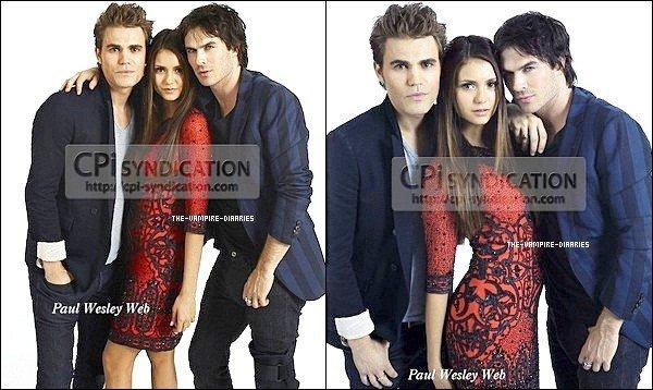 14/07/2012: (Re)Découvrez un photoshoot de EW Entertainment réalisé lors du Comic Con de cette année.
