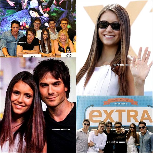 14/07/2012: Nina, Ian, Paul, Zach, Stven et Michael étaient présent au Comic Con 2012 à San Diego!