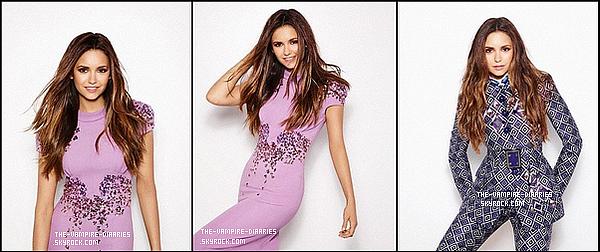 Découvrez de nouvelles photos du photoshoot de Nina pour le Fasion Magazine.
