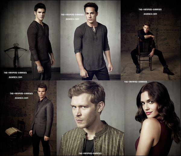 Découvrez un magnifique photoshoot pour la saison 4 de The Vampire Diaries !
