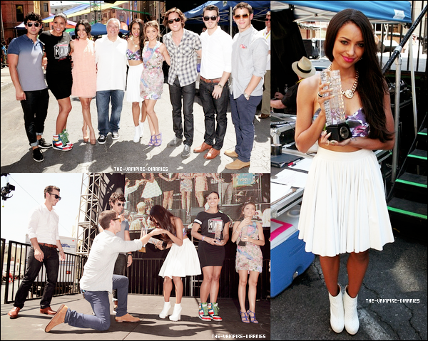 "Le 15 septembre 2012, Katerina Graham s'est rendue à la ""Variety's Power Of Youth"" aux Studios Paramount en Californie !"