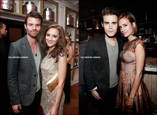 """Le 21 septembre 2012, Paul et Torrey ainsi que Daniel et sa femme se sont rendus à la """"Pre-Emmy Party"""" organisée par Entertainment Weekly à Melrose Place en Californie."""