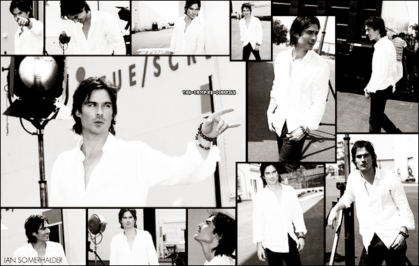 Découvrez de nouvelles photos du photoshoot de Ian pour le Cosmopolitain Magazine datant de 2011.